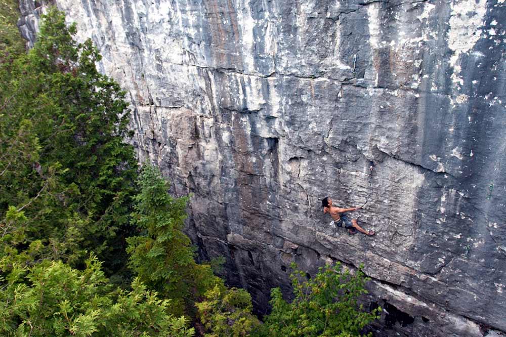 Ontario Parks Bans Climbing At Devil's Glen