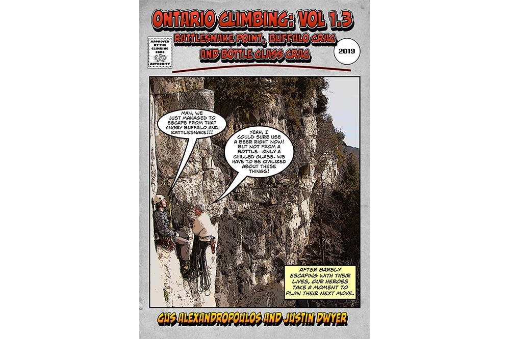 New Rakkup Guide For Rattlesnake Point, Buffalo Crag and Bottle Glass Crag