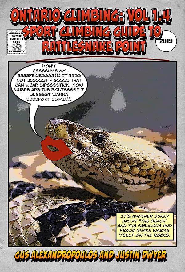 Ontario Climbing: Vol 1.4 Sport Climbing Guide To Rattlesnake Point