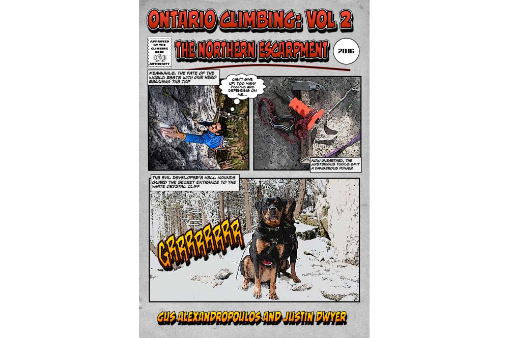 Ontario Climbing: Vol 2 The Northern Escarpment Is Now Available