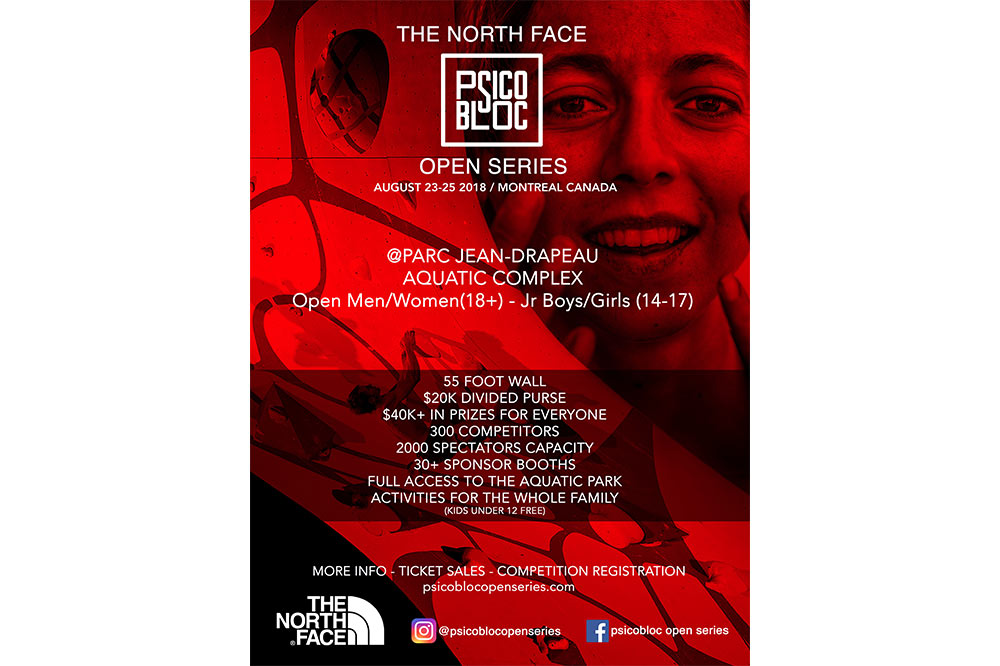 The North Face Psicobloc Open Series