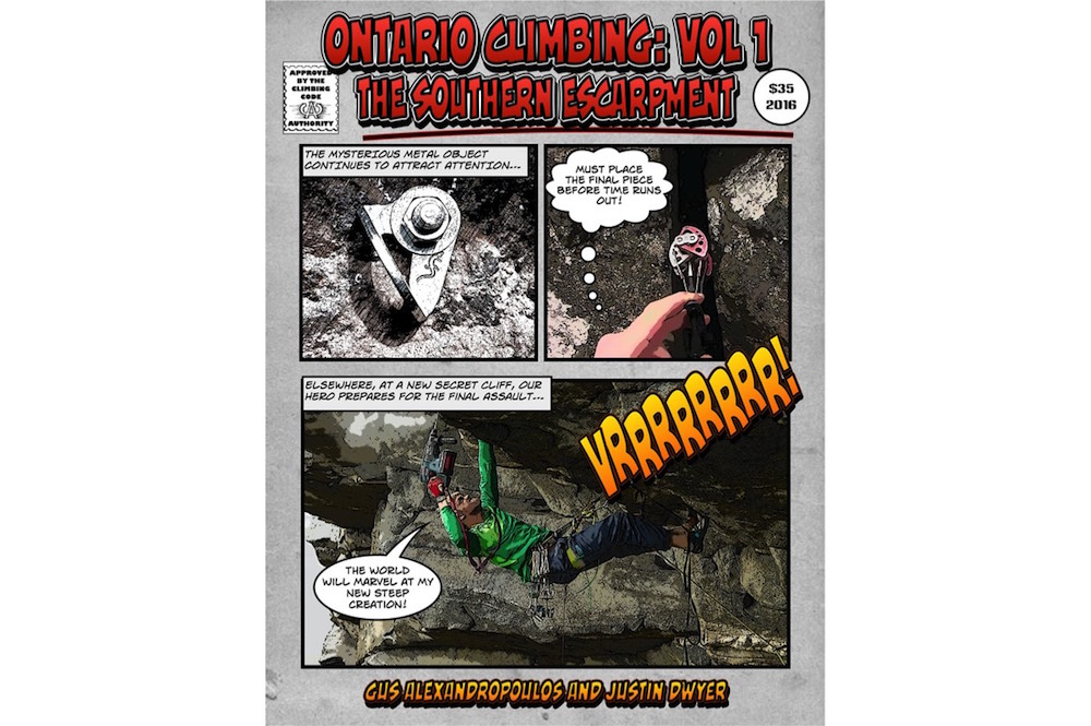Ontario Climbing: Volume 1 The Southern Escarpment
